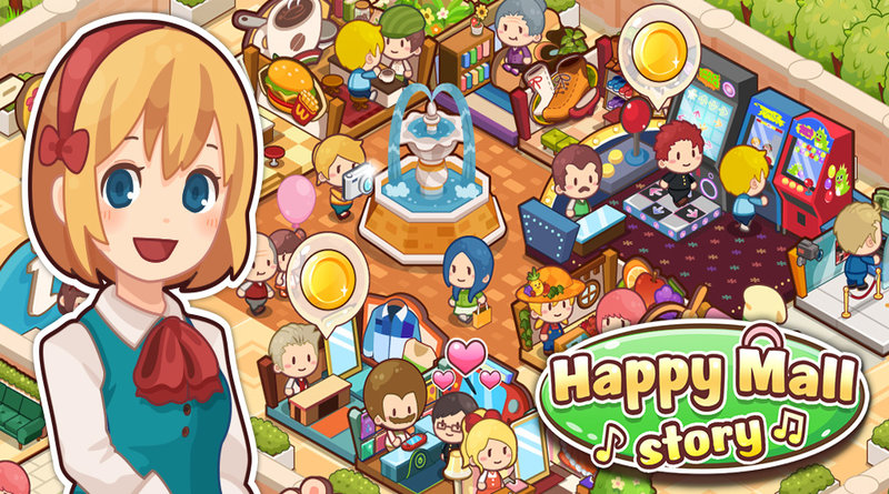 happy mall story sim game