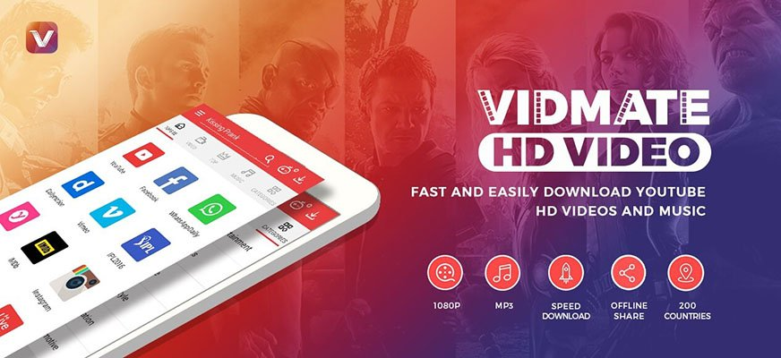 vidmate - best hd video downloader for android free download